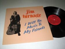JIM TURNAGE I Will Be Music To My Friends BIG CAT Stereo NM/NM-