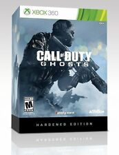 BRAND NEW & SEALED Xbox 360 Call of Duty Ghosts Hardened Edition with Steelbook