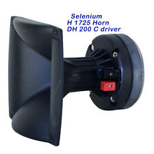 Selenium DH200 Compression Driver 17 25 Horn lens, Combo