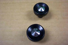 1956 Ford NEW Correct Radio Knobs SHOW CONDITION Pair 56