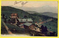 cpa 73 - Environ d'AIX LES BAINS (Savoie) Le MONT REVARD et le MONT BLANC Hameau