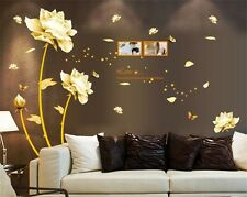 Noble flower home Decor Removable Wall Sticker/Decal/Decoration