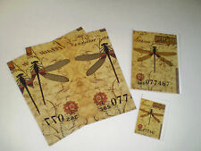 "Vintage-inspired Gift Wrap and Cards: ""Dragonfly Post"" Nature"