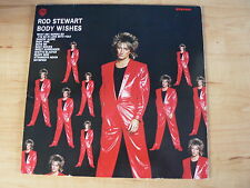 "ROD STEWART  BODY WISHES 1983 UK LP 92-3877-1 +7"" single PASSION/BETTER OFF DEAD"
