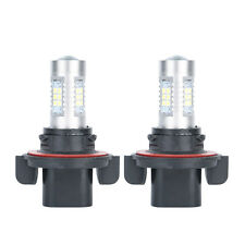 2pcs HID White High Power 9008 H13 Headlight Low Beam Headlamp LED Bulbs New