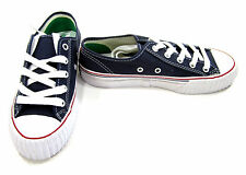 PF Flyers Shoes Center Reissue Lo Navy Blue/Red/White Sneakers Men 5 WO 6.5