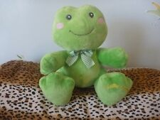 "Russ Dibbles the Frog Toadily Adorable plush 10"" B19"
