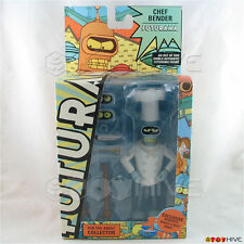 Futurama Chef Bender series 8 figure by Toynami with Roberto robot part