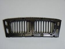 BMW E34 5-Series Front Inner Bumper Center Hood Kidney Grille Grill Matted Black