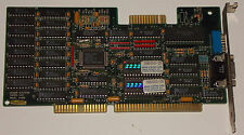 ISA 16Bit Grafikkarte GENOA Systems Super VGA Model 6400 GVGA Graphic Karte Card