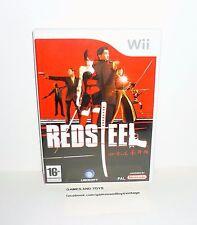 JEU NINTENDO WII COMPLET RED STEEL REF 725