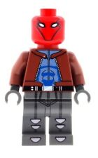 Custom Minifigure The Red Hood Superhero Batman Printed on LEGO Parts