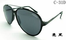 Fashion Men's & Women Retro Sunglasses Unisex Matte Frame Carrera Glasses C-31 D
