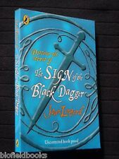 Joan Lingard: The Sign of the Black Dagger - Proof Copy - 2005-1st, Youth Novel