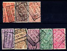 BELGIUM - BELGIO - 1923-1931 - Francobolli pacchi ferroviari