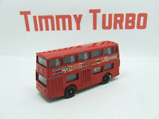 DAIMLER FLEETLINE BUS VISIT BRITAIN LONDON RED CORGI JUNIOR