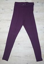 Rei Plum Panel High Waisted Leggings 4 Way Stretch