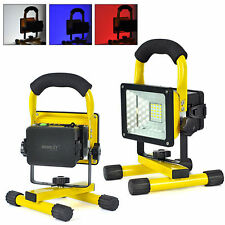 2x 30W Outdoor Portable LED Flood Spot Rechargeable Work Light Camping Lamp