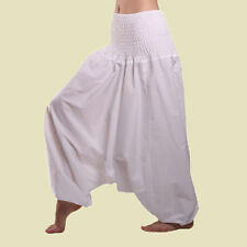 Men & Women Harem Pants Cotton Baggy Yoga Afagani Geni Indian Aladdin Trouser