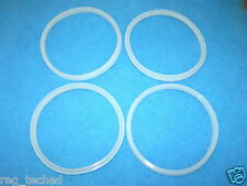 Lot of 4 Manual Sausage Stuffer Replacement Gasket Seal 3L 5L 7L MTN, LEM,others