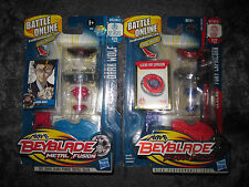 BEYBLADE LOT METAL FUSION BLISTER RARE DARK WOLF + FURY CAPRICORN NEUF MINT FR