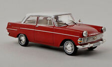 wonderful modelcar OPEL REKORD PII 1960 - vinered and white - scale 1/43