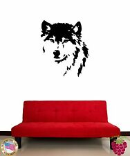 Wall Sticker Wolf Animal Predator Cool Decor for Living Room z1329