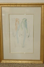 "Salvador Dali Return Return Shulamite"" Etching 1971Artist Proof Etching Framed"