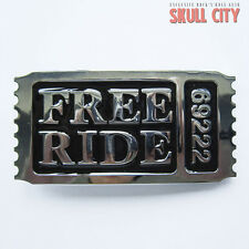 FREE RIDE 69222 boucle de ceinture Biker Bitch Rocker Chopper Club USA US