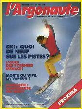 Revue l'argonaute No 42 Février 1987   le ski quoi de neuf sur les pistes