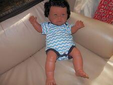 VINTAGE CHUBBY LEGS ADORABLE FACE BLACK AA BERJUSA  BABY DOLL