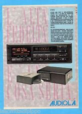 QUATTROR990-PUBBLICITA'/ADVERTISING-1990- AUDIOLA AUTORADIO CS 134 CD+MCD 1010