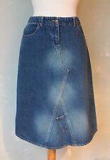 Morgan de toi Jupe jeans jupe aspect use de nombreuses poches 38 M/40 (s2) *