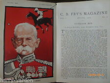 Field Marshall Lord Roberts VC Old Edwardian Article Illustrated Tom Browne 1904