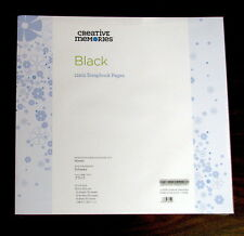 Creative Memories True 12 x 12 Refill Pages - Black