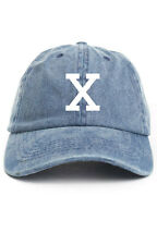 MALCOLM X DENIM CUSTOM UNSTRUCTURED BASEBALL DAD CAP HAT ANY MEANS NEW