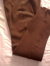 Ladies Chocolate Brown Breeches 30R by Jazzy Jodz