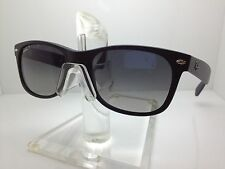 RAYBAN Sunglasses RB 2132 601/S-78 52MM MATTE BLACK/GRADIENT BLUE POLAR. LENS