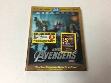 Blu ray Slipcover ONLY NO Discs/Case - Avengers 3D Lenticular