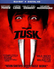 Tusk [Blu-ray + Digital HD] DVD, Depp, Johnny, Long, Justin, Osment, Haley Joel,