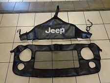 07-16 Jeep Wrangler New Front End Bra Hood Cover Mopar Genuine Oem 2 Pcs