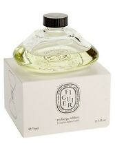 DIPTYQUE MADE IN FRANCE FIGUIER HOURGLASS DIFFUSER REFILL 2,5 Oz 75ml NEW SEALED