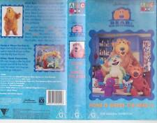 BEAR IN THE BIG BLUE HOUSE HOME IS WHERE THE BEAR IS  VHS PAL VIDEO RARE