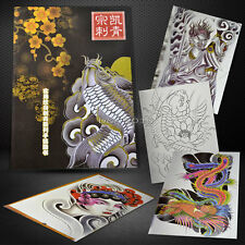 Pratical Classic Tattoo Design Flash Manuscript Sketch Book By Zongkai 92pages