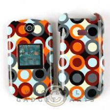 Samsung R270 Chrono 2 Shield Multi Colored Circles and Dots Cover Shell Protect