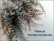 Whiting Eurohackle Fly Tying Feather Hair Extensions / Short / Fluff / Jewelry