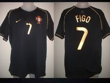 Portugal Luis FIGO Adult XL Real Madrid Nike Away Shirt Jersey Football Soccer