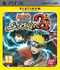 Naruto Shippuden Ultimate Ninja Storm 2 Platinum PS3 * NEW SEALED PAL *