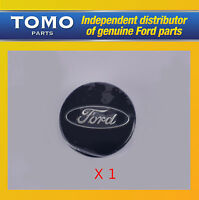 New Genuine Ford Focus Cabriolet 2006-10 Alloy Wheel Blue Centre Cap X1 1429118