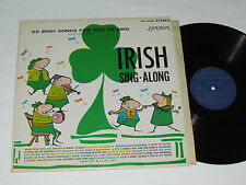 25 IRISH SONGS FOR YOU TO SING Ireland Sing-Along LP London Records Stereo VG